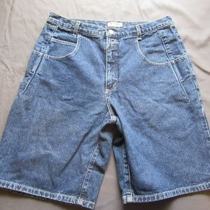 Mens Vtg Guess Jeans Denim Shorts Sz 34